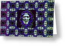 The Three Medusas 20130131 - Horizontal Greeting Card
