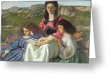 The Three Sisters Of Dean Liddell Greeting Card