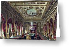 The Throne Room, Carlton House Greeting Card