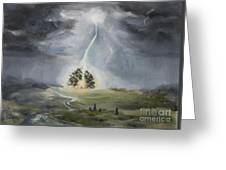 The Thunder Storm Greeting Card
