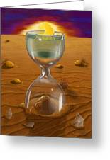 The Time Of Creation Greeting Card