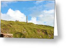 The Tin Mines Of Cornwall Greeting Card