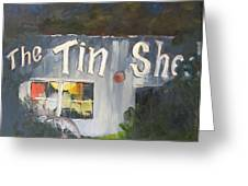 The Tin Shed Greeting Card