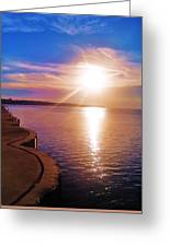 The Tip Of The Thumb Greeting Card
