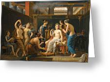 The Toilet Of Venus Greeting Card