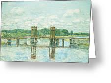 The Toll Bridge New Hampshire Greeting Card