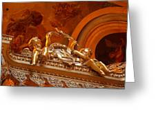 The Tombs At Les Invalides - Paris France - 011319 Greeting Card