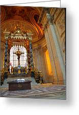 The Tombs At Les Invalides - Paris France - 01136 Greeting Card