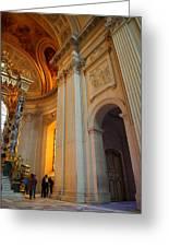 The Tombs At Les Invalides - Paris France - 01138 Greeting Card
