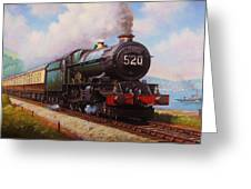 The Torbay Express. Greeting Card