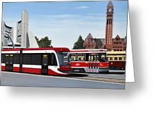 The Toronto Streetcar 100 Years Greeting Card