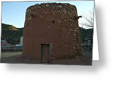 The Torreon In Lincoln City New Mexico Greeting Card by Jeff Swan