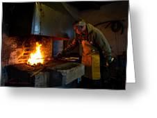 The Torresta Blacksmith Greeting Card