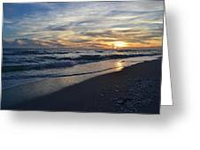 The Touch Of The Sea Greeting Card
