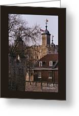 The Tower Of London # 1 Greeting Card