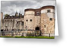 The Tower Of London Uk The Historic Royal Palace And Fortress Greeting Card