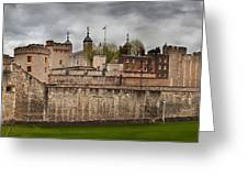 The Tower Of London Uk The Historic Royal Palace Greeting Card