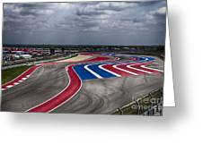 The Track Greeting Card