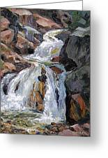 The Trail Series - Waterfalls Greeting Card