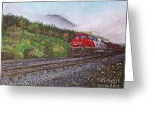 The Train West Greeting Card