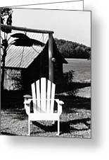 The Transporter Chair Greeting Card by   Joe Beasley
