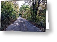 The Traveler's Road Greeting Card