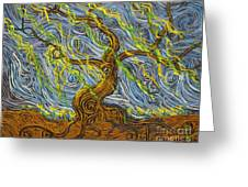 The Tree Have Eyes Greeting Card