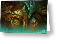 The Tree Of Life Greeting Card by Sandra Bauser Digital Art