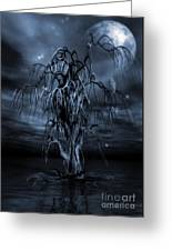 The Tree Of Sawols Cyanotype Greeting Card