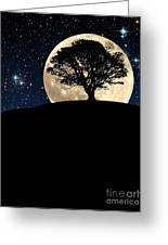 The Tree The Moon The Stars Greeting Card