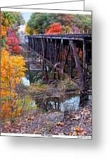 The Trestle Greeting Card