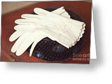 The Trip-the Gloves Greeting Card by Kay Pickens
