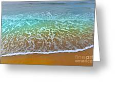 The True Beauty Of Water And Sun Greeting Card