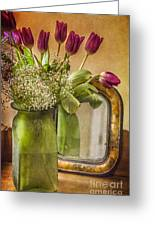 The Tulips Stand Arrayed - A Still Life Greeting Card