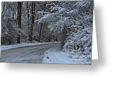 The Turns. Greeting Card