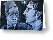 The Two Doctors Greeting Card
