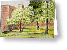 The University Of The South Campus Greeting Card