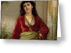 The Unwelcome Companion , C.1872-73 Greeting Card