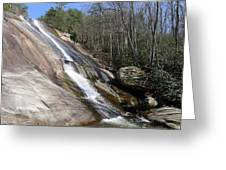The Upper Cascade Greeting Card
