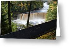 The Upper Falls Greeting Card