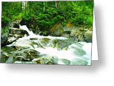 The Upper Paradise River Greeting Card