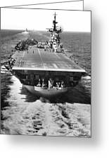 The U.s. Aircraft Carrier Uss Boxer Greeting Card