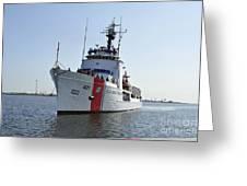 The U.s. Coast Guard Cutter Valiant Greeting Card