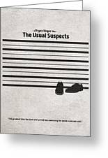 The Usual Suspects Greeting Card