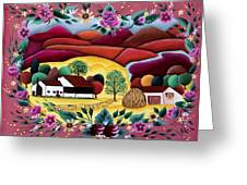 The Valley Greeting Card