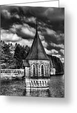 The Valve Tower Mono Greeting Card