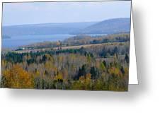 The Vast Landscape Greeting Card