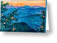 The Very Blue Ridge Greeting Card