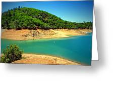The View At Shasta Lake Greeting Card