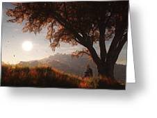 The View From Here Greeting Card